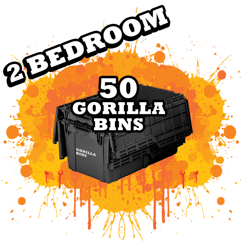 Rent Moving Boxes In Nyc Gorilla Bins
